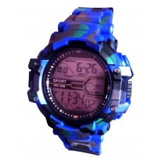 V-Luma Army Digital with Light Sports Watch Blue
