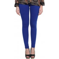 V-Luma Blue Cotton Leggings For Women -Free Size Code BL91