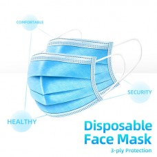 V-Luma Surgical Mask Face Masks Unisex Anti Dust Anti Pollution Anti Flu 3 Filter Layers Pack of 10