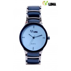 V-Luma Golden with Black Men's Watch VL17