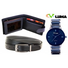 V-Luma Men's Combo of Black VLCOM0511